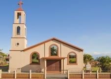 Eenvoudige kerk-Costa Rica Stock Afbeeldingen