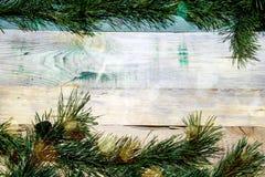 Eenvoudige Kerstmisachtergrond stock foto
