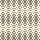 Eenvoudige Kleurrijk ruwt Mesh Grid Fabric Illustration Seamless-Patroonachtergrond Stock Illustratie