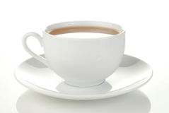 Eenvoudige kop thee Stock Foto's