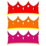 Eenvoudige kroon Royalty-vrije Stock Fotografie