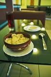 Eenvoudige maaltijd Royalty-vrije Stock Foto's