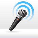 Eenvoudige microfoon Royalty-vrije Stock Foto
