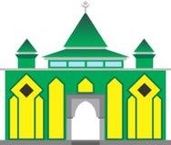 Eenvoudige Moskee Royalty-vrije Stock Foto