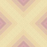 Eenvoudige oranje lijn x patroon royalty-vrije stock afbeelding