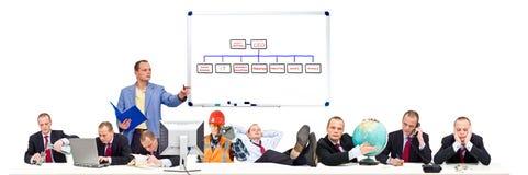 Eenvoudige Organisatie Royalty-vrije Stock Fotografie