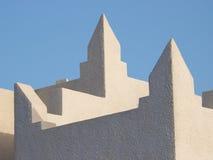 Eenvoudige patronen van Arabische architectuur Royalty-vrije Stock Afbeeldingen