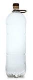 Eenvoudige plastic fles Stock Fotografie