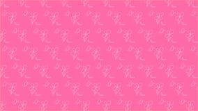 Eenvoudige roze en purpere achtergrond stock illustratie