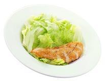 Eenvoudige Salade Stock Foto