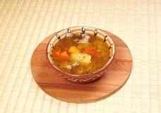 Eenvoudige soep Royalty-vrije Stock Foto