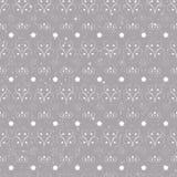 Eenvoudige vector van het Kerstmis de naadloze patroon Stock Afbeeldingen