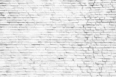 Eenvoudige witte en grijze bakstenen muur als naadloze achtergrond van de patroontextuur stock fotografie