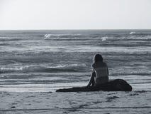 Eenzaam stock foto's