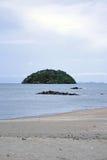 Eenzaam eiland Royalty-vrije Stock Afbeeldingen