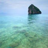 Eenzaam eiland Stock Afbeelding