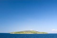 Eenzaam eiland Stock Afbeeldingen