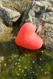 Eenzaam hart stock afbeelding