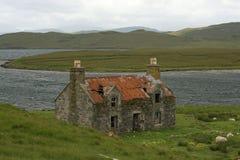 Eenzaam huis Royalty-vrije Stock Foto's