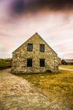 Eenzaam huis Stock Afbeeldingen