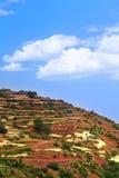 Eenzaam huis in Marokko Royalty-vrije Stock Foto's