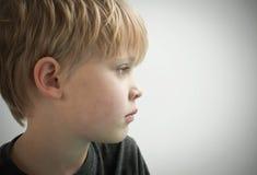 Eenzaam kind royalty-vrije stock foto