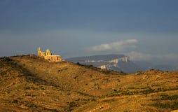 Eenzaam klooster Stock Afbeelding