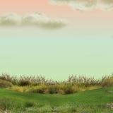 Eenzaam landschap stock fotografie