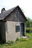 Eenzaam plattelandshuisje Stock Foto