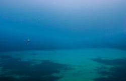 Eenzaam schip Stock Foto