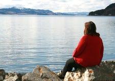 Eenzaamheid stock fotografie