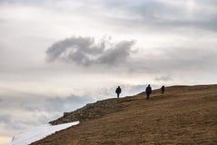 Eenzaamheid in de Alpen Royalty-vrije Stock Foto