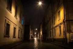 Eenzaamheid in de oude stad royalty-vrije stock foto's