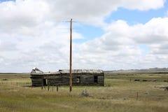 Eenzaamheid in Montana, de V.S. stock afbeeldingen