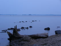Eenzaamheid op Susquehanna Royalty-vrije Stock Fotografie