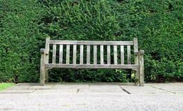 Eenzame Bank Stock Foto