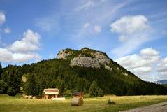 Eenzame berg, Malino Brdo, Slowakije Stock Fotografie
