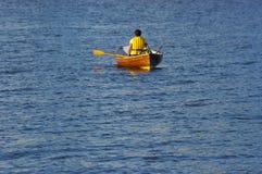 Eenzame boot Stock Afbeeldingen