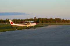 Eenzame Cessna Royalty-vrije Stock Afbeelding