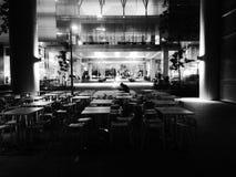 Eenzame Diner royalty-vrije stock foto