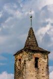 Eenzame kerktoren Stock Foto's