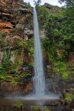 Eenzame kreekwaterval Zuid-Afrika Royalty-vrije Stock Fotografie
