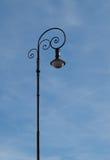 Eenzame lamp Royalty-vrije Stock Afbeeldingen