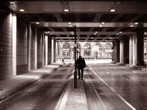 Eenzame mens Royalty-vrije Stock Foto