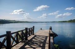 Eenzame pijler in Coba, Quintana Roo, Mexico stock fotografie