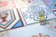 Eenzame stoel Royalty-vrije Stock Foto