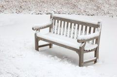 Eenzame stoel Stock Afbeelding