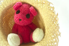 Eenzame Teddy stock afbeelding