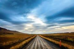 Eenzame weg Stock Fotografie