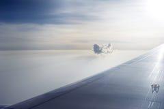 Eenzame wolk Royalty-vrije Stock Afbeeldingen